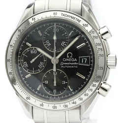 Polished OMEGA Speedmaster Date Steel Automatic Mens Watch 3513.50 BF515775