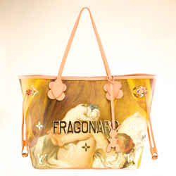 Louis Vuitton Nude Jeff Koons Fragonard Neverfull Mm Handbag