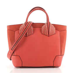 Eloise Satchel Spiked Leather Large