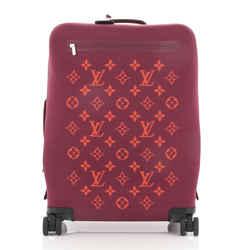 Horizon Soft Luggage Monogram Knit 55