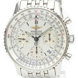 Polished BREITLING Navitimer Steel Automatic Mens Watch A23322 BF521555