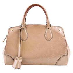 Louis Vuitton Santa Monica  Shoulder Bag Neutral Leather