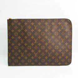 Louis Vuitton Monogram Poche Document M53456 Women's Briefcase Monogram BF523974