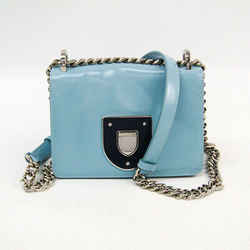 Christian Dior Diorama Chain Women's Leather Shoulder Bag Light Blue,Na BF511246