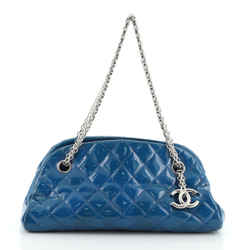 Just Mademoiselle Bag Quilted Patent Small