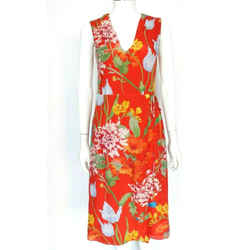 $350 Alice & Olivia Red Multi-color Floral ''tasia'' Wrap Dress Sz 0 Eu 36