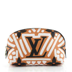 Cosmetic Pouch Limited Edition Crafty Monogram Giant