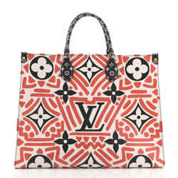 OnTheGo Tote Limited Edition Crafty Monogram Giant GM