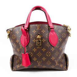Louis Vuitton Bag Flower Zipped Tote PM Monogram Coated Canvas