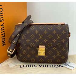Louis Vuitton Monogram Pochette Metis Cross body shoulder bag M44875 A629