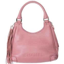 Chanel Caviar Maxi Tassel Shoulder Bag. So Chic!