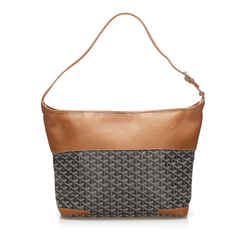 Brown Goyard Grenadine Hobo Bag