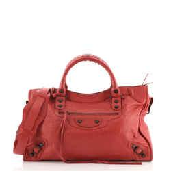 City Classic Studs Bag Leather Medium