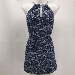 Michael Kors Navy Sleeveless Dress Small