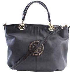 Tory Burch Dark Brown Leather 2way Tote bag 300tb514