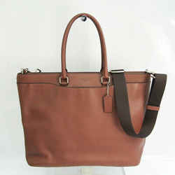 Coach Beckett F68944 Men's Leather Shoulder Bag,Tote Bag Brown BF531211
