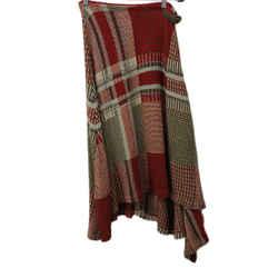 Ralph Lauren Red Plaid Knit Skirt sz 2
