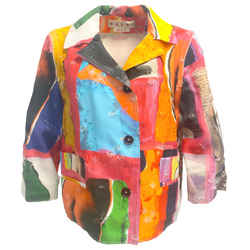 Marni Multi Color Starlight Print Jacket