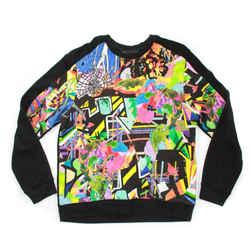 Marc by Marc Jacobs - Crew Neck Sweatshirt - Neon Print Graphic - Men's Large L