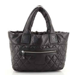 Coco Cocoon Reversible Tote Quilted Nylon Small