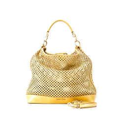 Pre-Owned Miu Miu Perforated Tote Bag