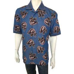 Chapman Elephant Knit Collar Shirt