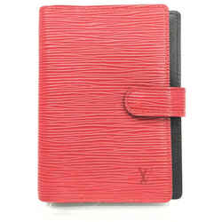 Louis Vuitton Red Epi Leather Small Ring Agenda PM 862077