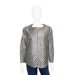 Giorgio Armani | Studded Metallic Jacket