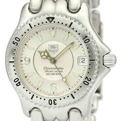 Polished TAG HEUER Sel Chronometer Steel Automatic Unisex Watch WG5212 BF516235