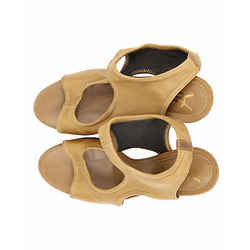 Yves Saint Laurent Nappa Stretch Sandals