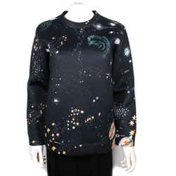 Valentino - Cosmos Sweatshirt - Black Galaxy Constellation - Us Small S