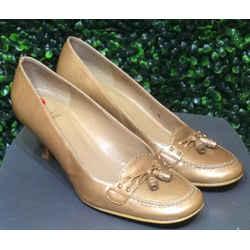Stuart Weitzman Size 6.5 Dark Gold Heels