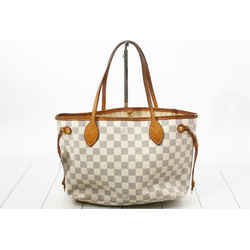 Louis Vuitton Damier Azur Neverfull PM Tote Bag 862124