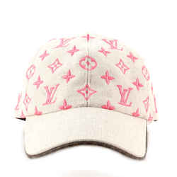 Starboard Baseball Cap Monogram Embroidered Canvas XL