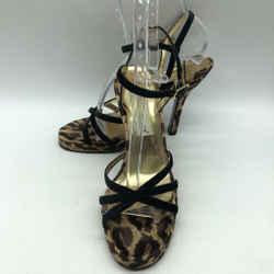 Dolce & Gabbana Brown Leopard Heel 10