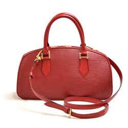 Vintage Louis Vuitton Jasmin Red Epi Leather Handbag LU449