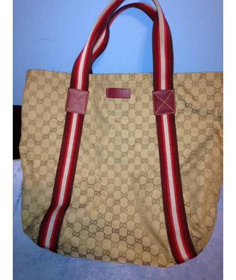 Gucci Britt Large Shopping Tote