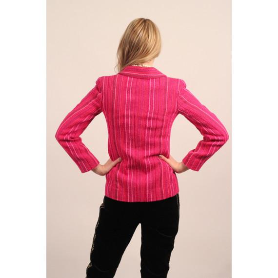 Chanel O1P Tweed Jacket Sz 34