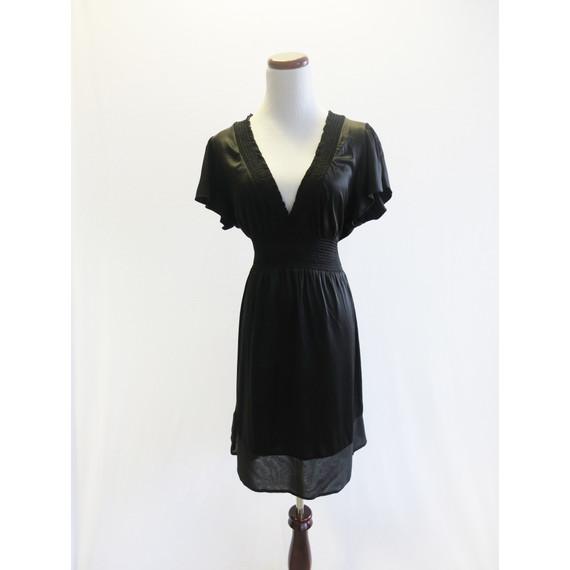 BCBG Maxazria Black Empire Waist Dress