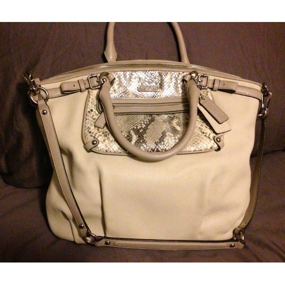 Authentic Leather Python Bag