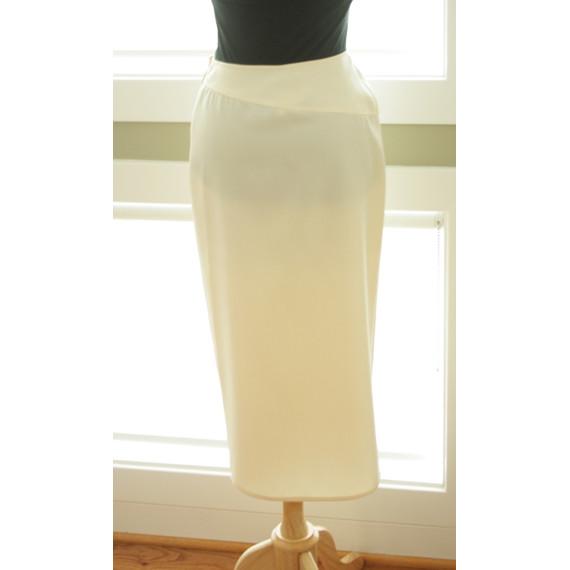 Vintage Valentino Long Wrap Skirt