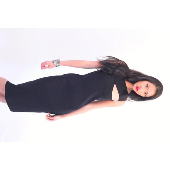 Richard Tyler Cut-Out Dress