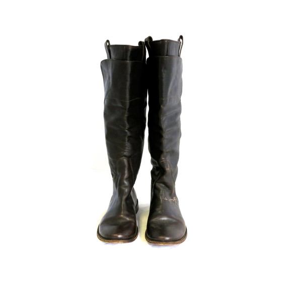 Frye Brown Tall Riding Boots