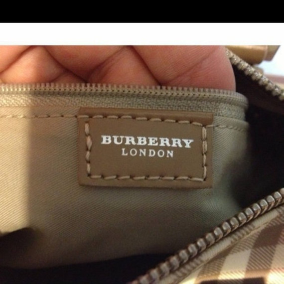 *last reduction* Burberry pink small tote