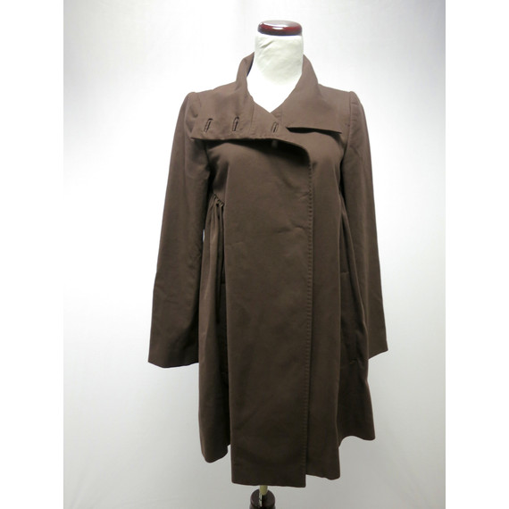 Stella McCartney Brown Babydoll Coat