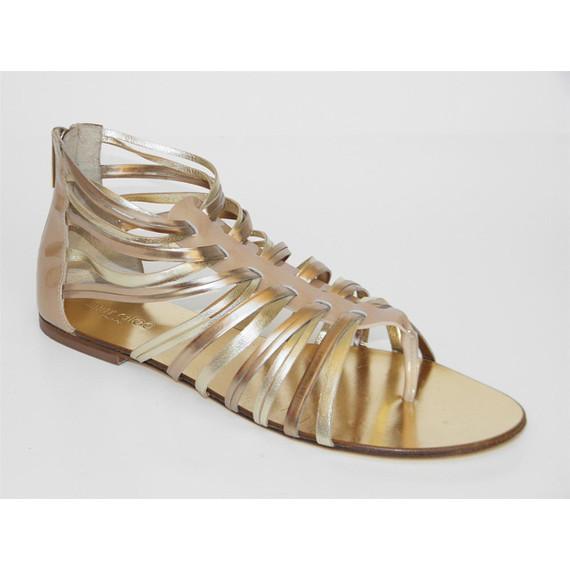 Jimmy Choo Gladiator flat sandals 8.5