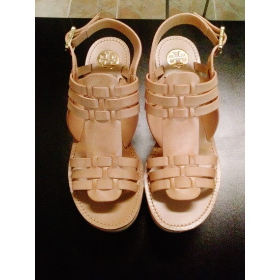 Tory Burch Brand New Cork Wedges
