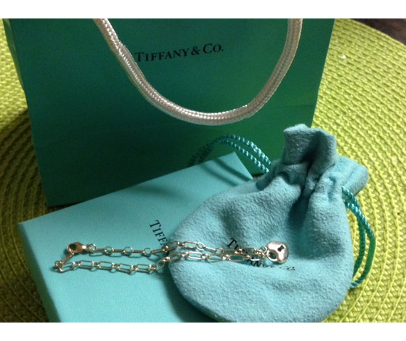 Tiffany & Co Heart Lock Bracelet