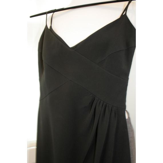 Black Armani Collezioni Little Black Cocktail Dress
