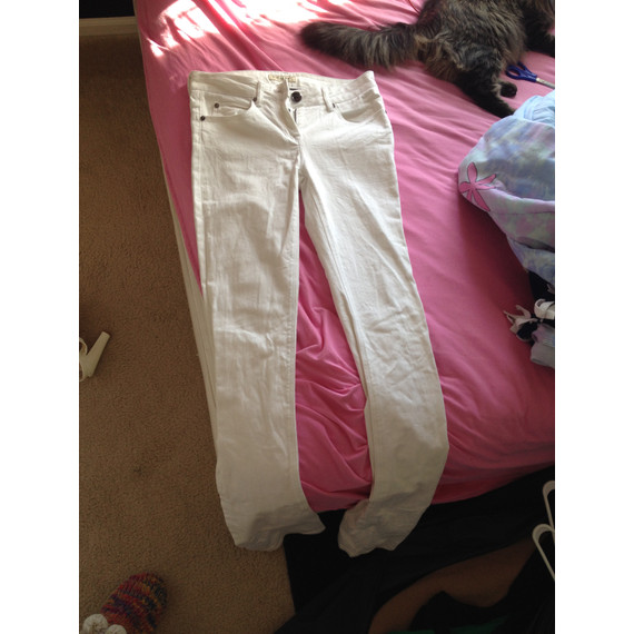 Burberry White Jeans